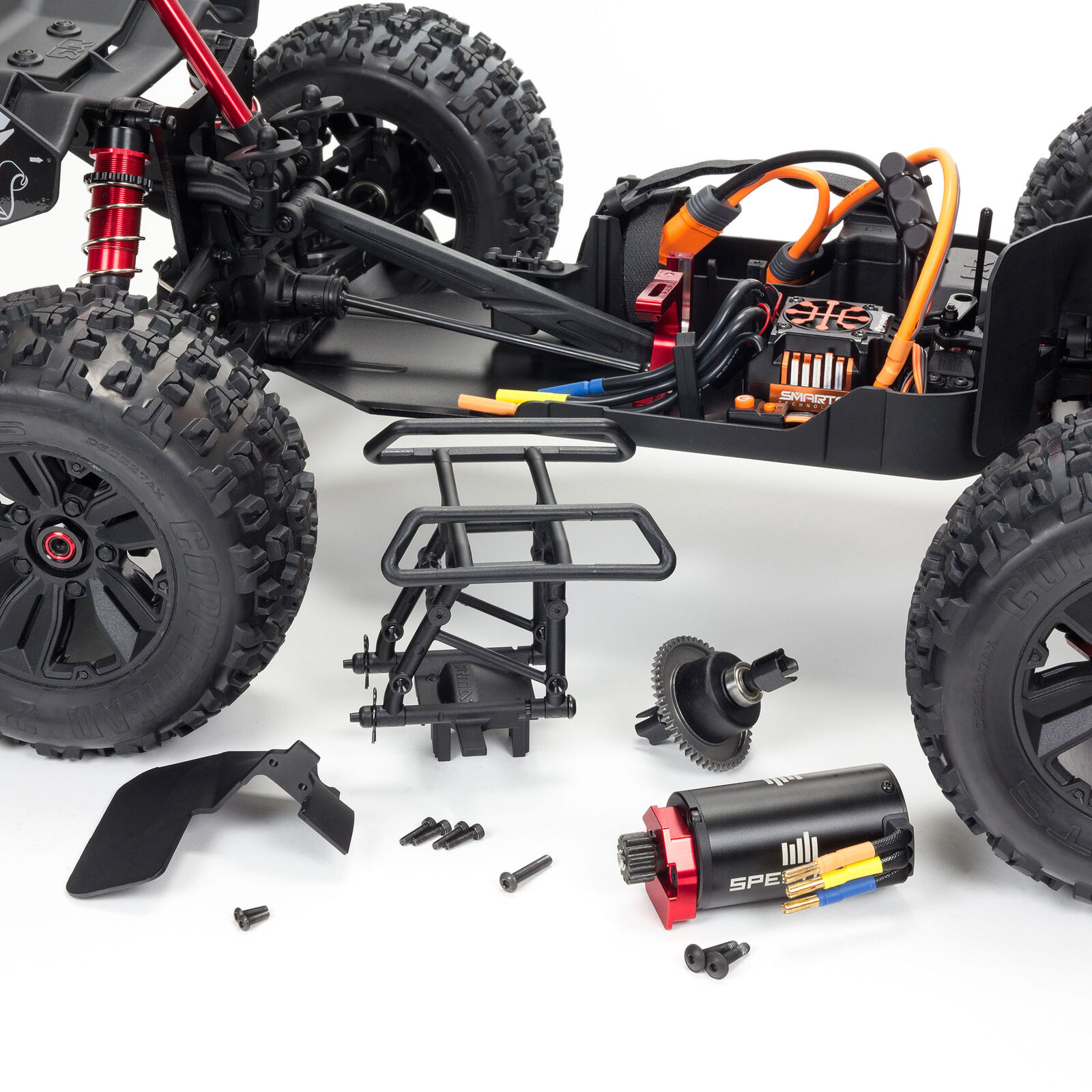 1/8 KRATON 6S V5 4WD BLX Speed Monster Truck with Spektrum Firma RTR, Blue