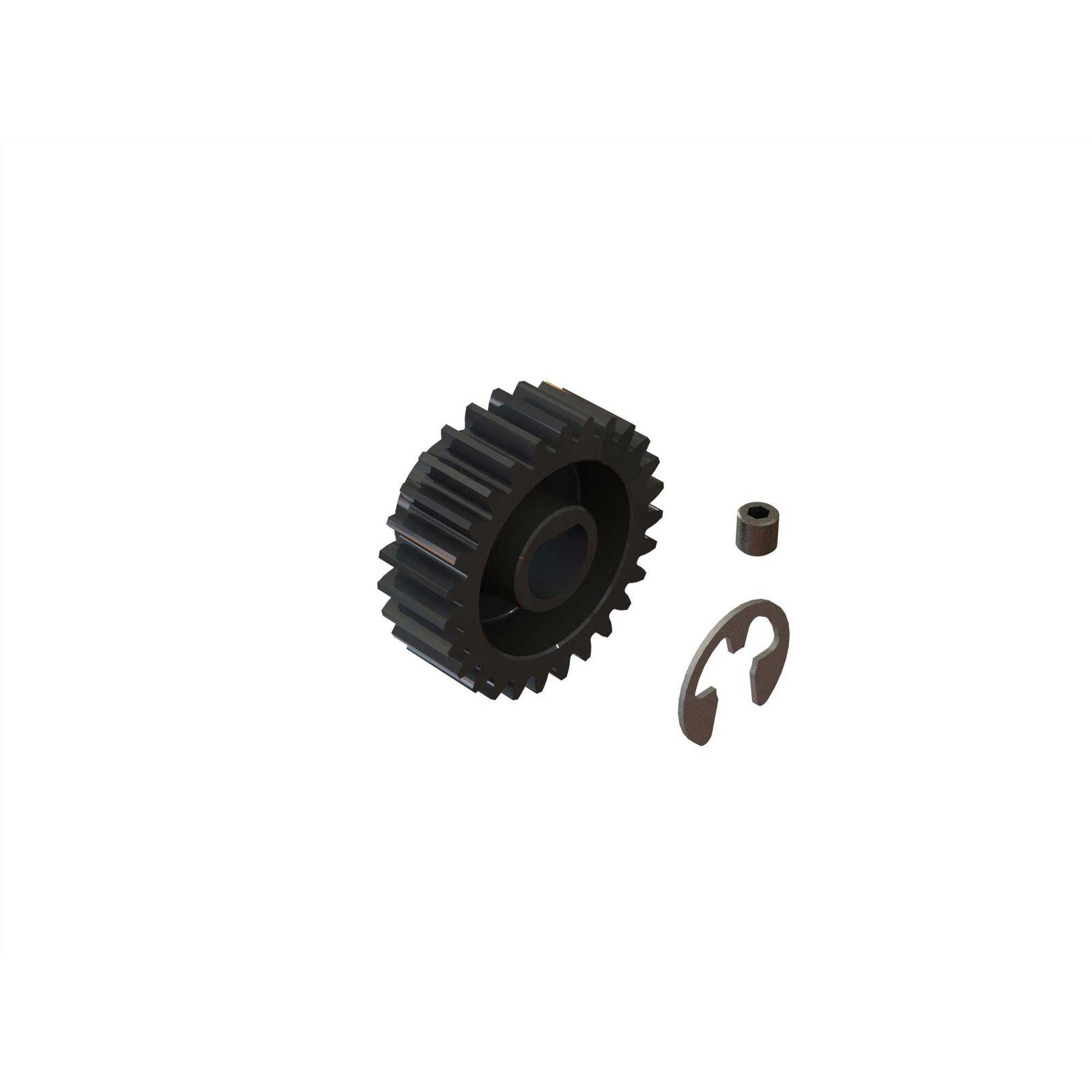 27T Mod1 Safe-D8 Pinion Gear
