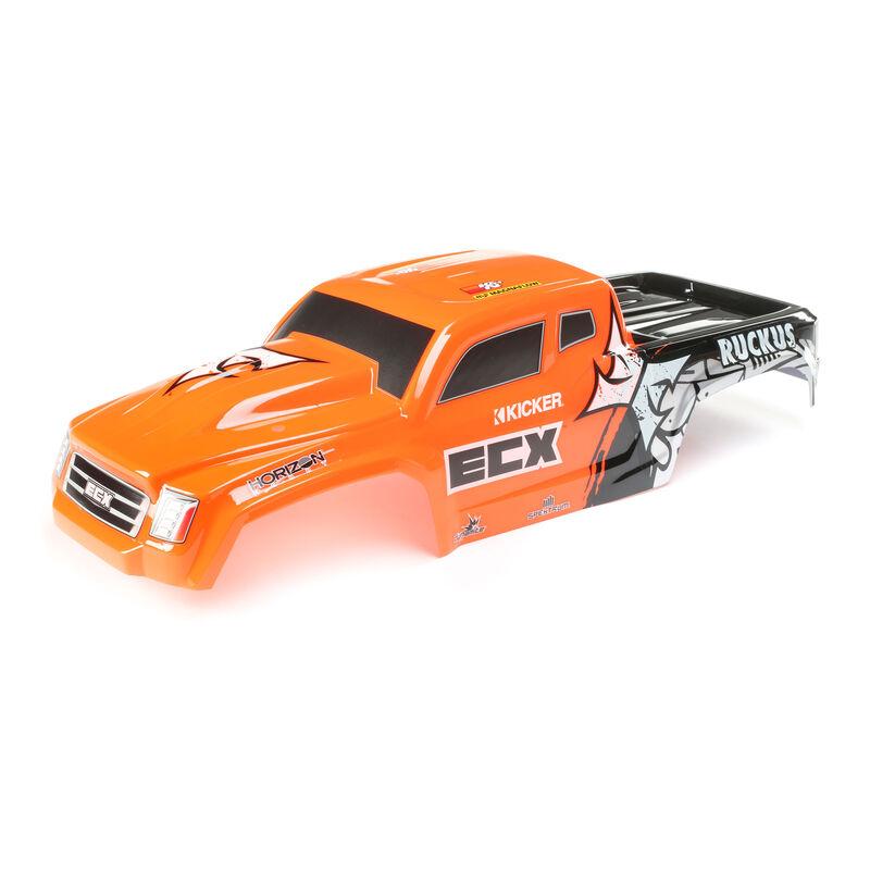 1/10 Painted Body, Orange: 2WD Ruckus