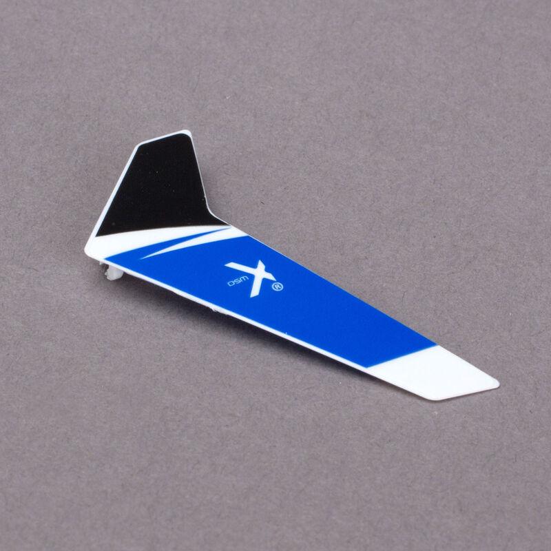 E-flite Blade Leitwerk, blau: BmSR