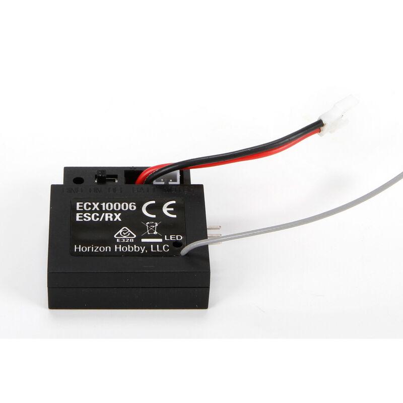 ESC/Receiver: 1/24 4WD Temper