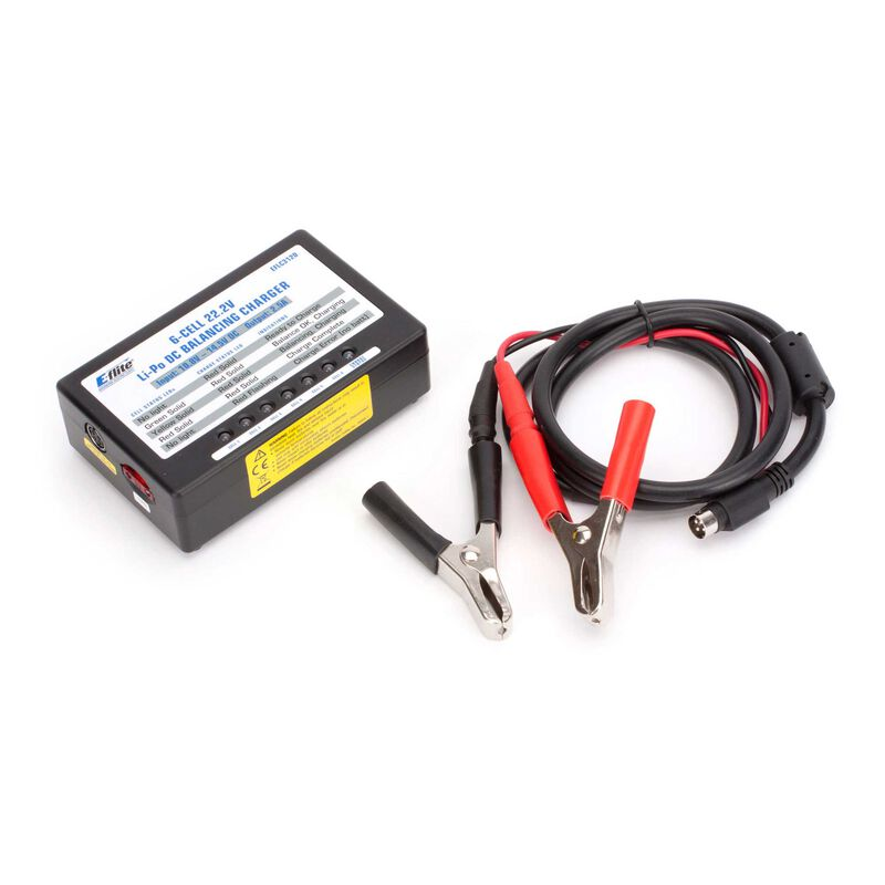 E-flite 2,0A 6S 22,2V LiPo-Ladegerät