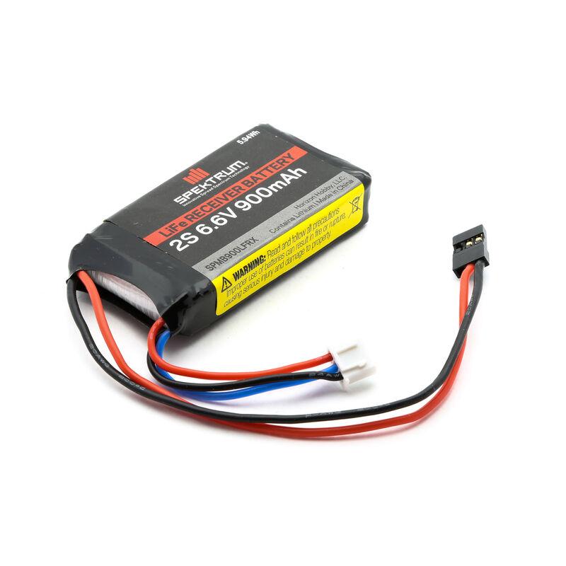 6.6V 900mAh 2S LiFe Receiver Battery: Universal Receiver
