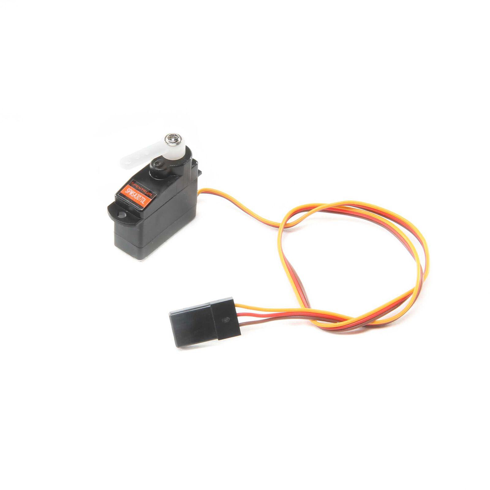 3.7g Sub-Micro Analog Air Servo Long Lead