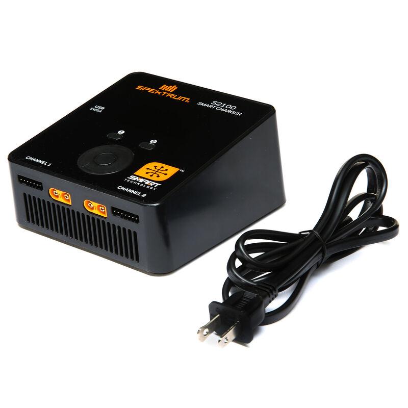 Smart S2100 AC Charger 2x100W EU Plug