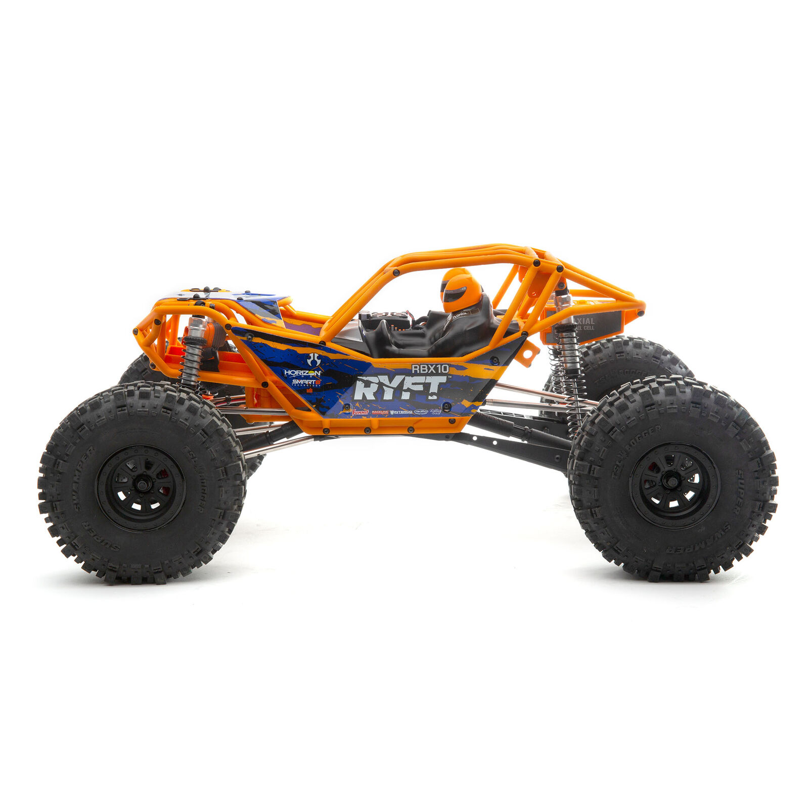 1/10 RBX10 Ryft 4WD Brushless Rock Bouncer RTR, Orange