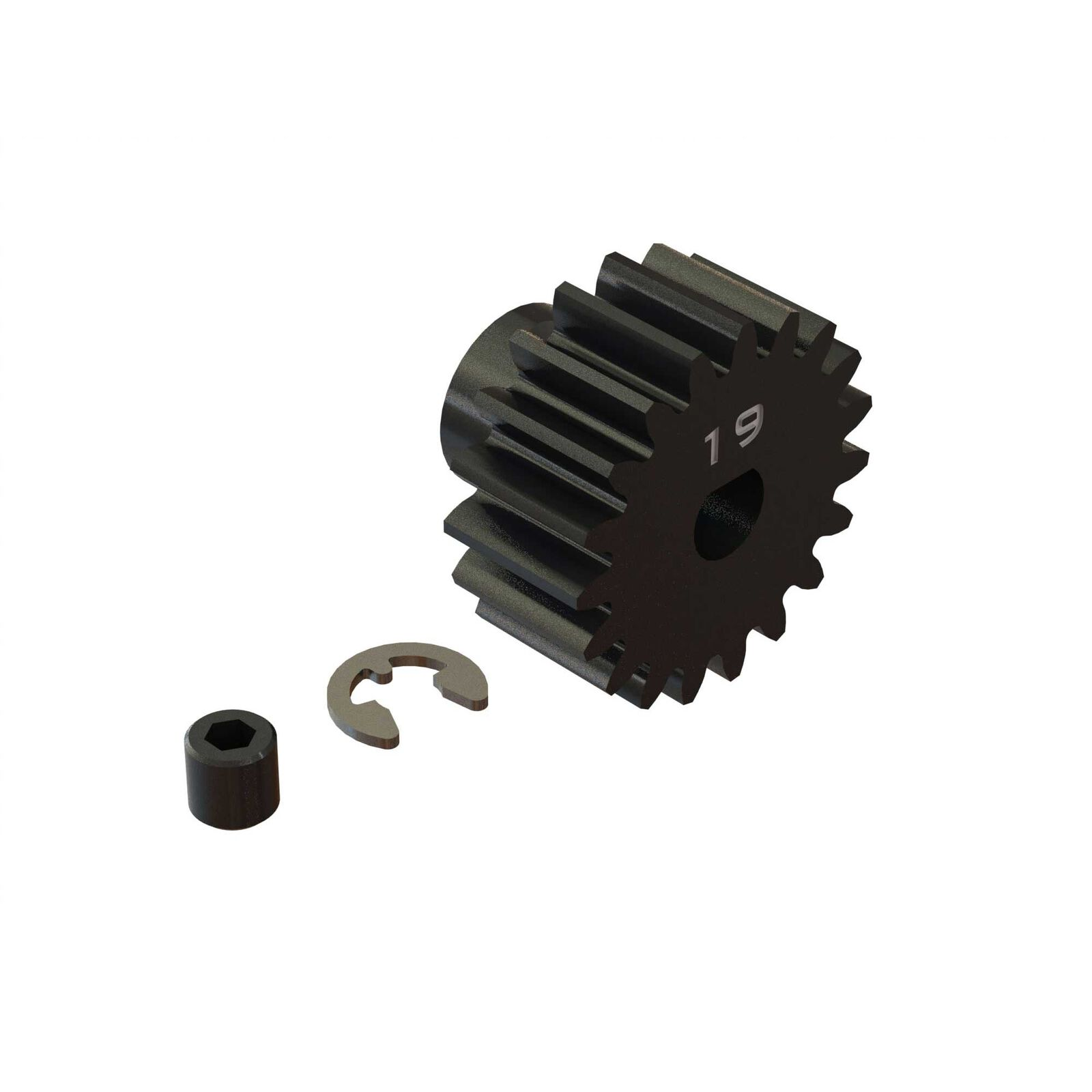 Pinion Gear, 19T HD Mod1 Safe-D5