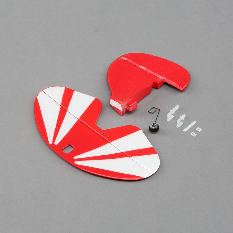 Tail Set with Accessories: UMX Pitts S-1S