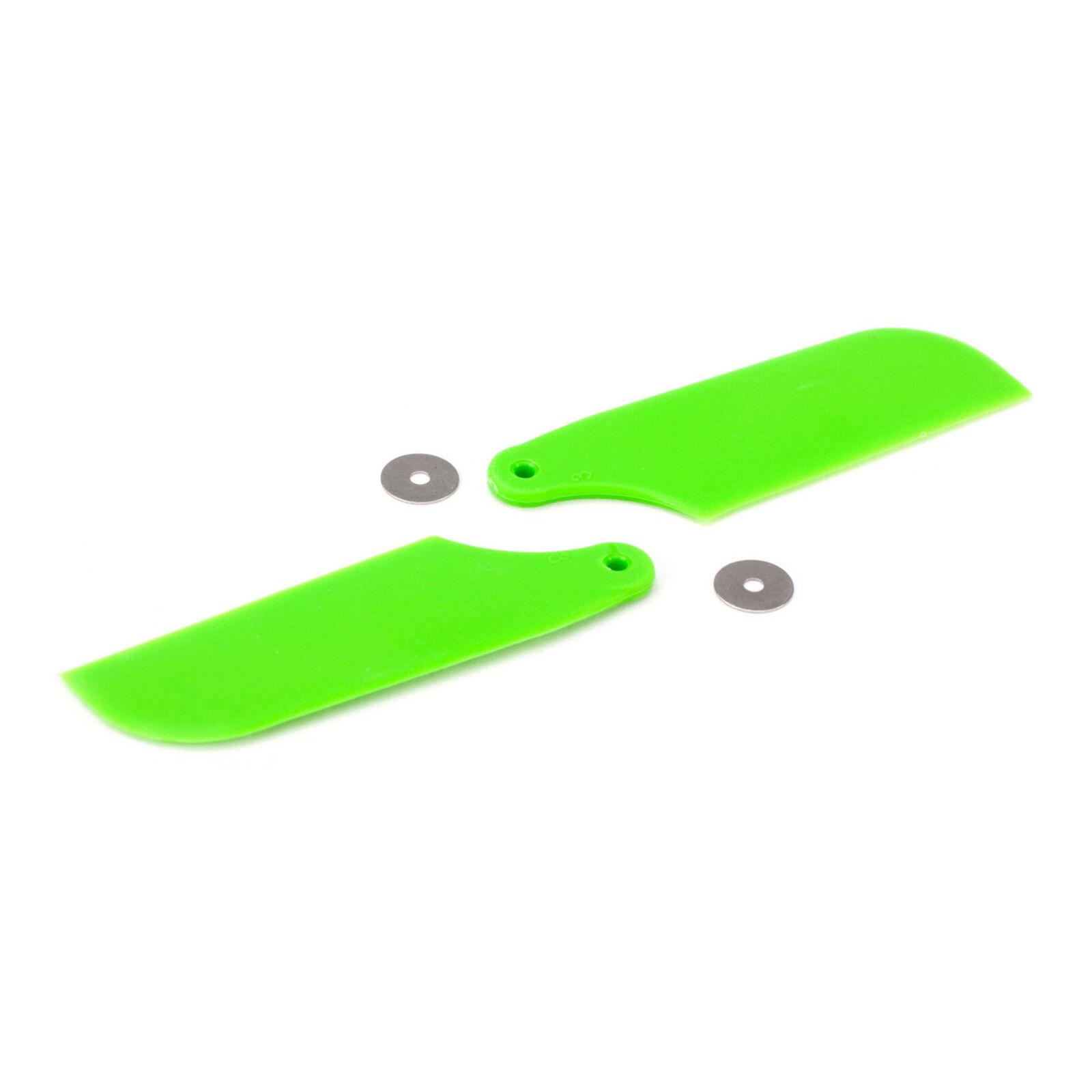 Tail Rotor Blade Set, Green: B450 3D, B400, B450 X
