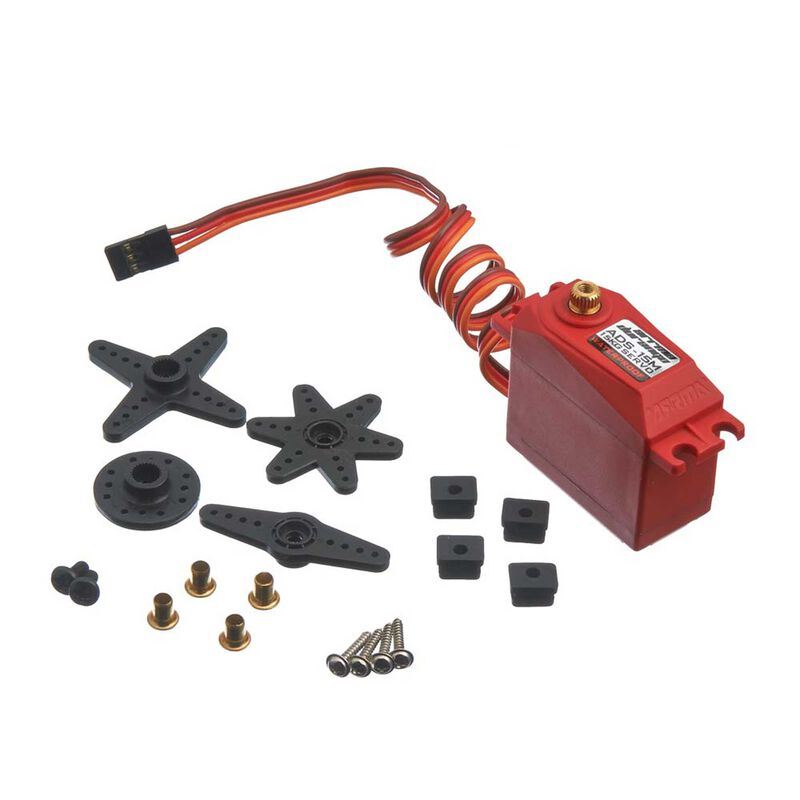 ADS-15M V2 15kg Waterproof Servo, Red