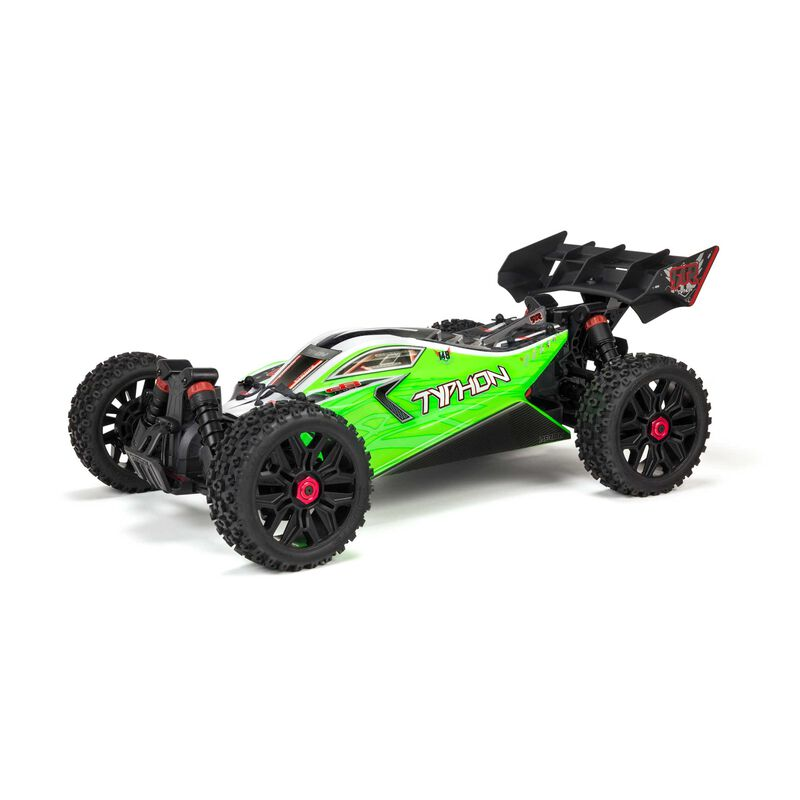 1/8 TYPHON 4X4 550 MEGA Brushed Buggy RTR Int, Green