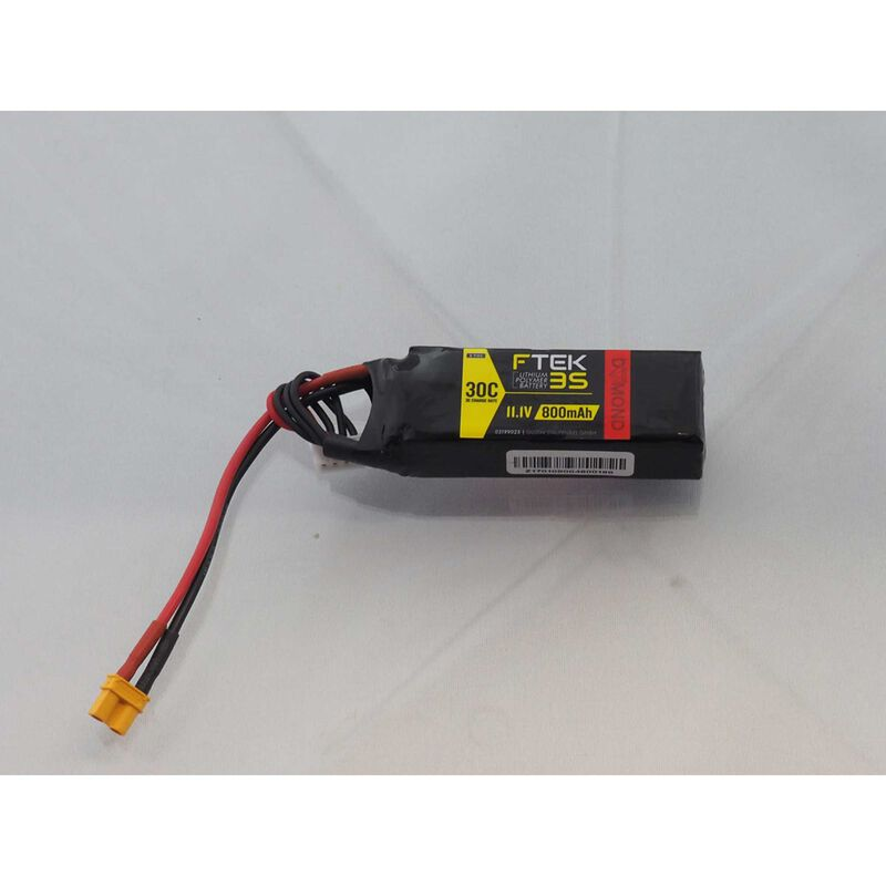 DYMOND F-TEK 3S 800mAh (11,1V) 30C LiPo Akku (XT30)
