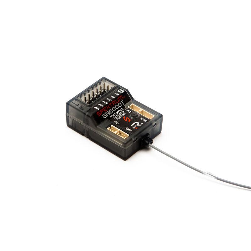 SR6000T 6-Channel DSMR Slim Receiver with Telemetry