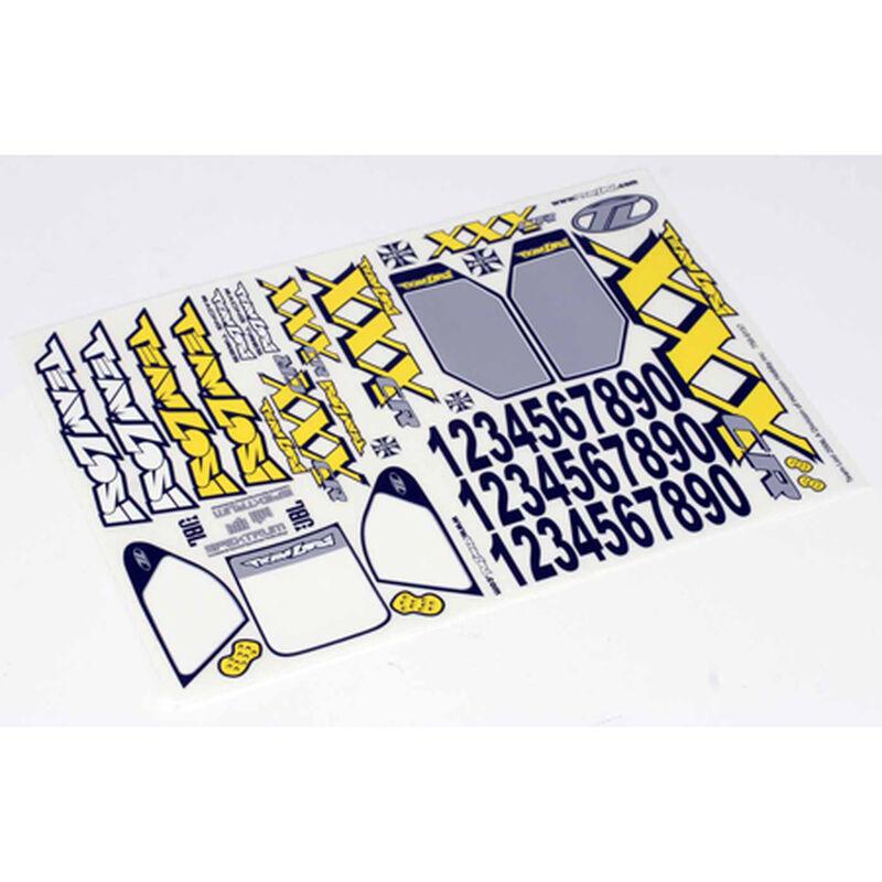XXXCR Sticker Sheet
