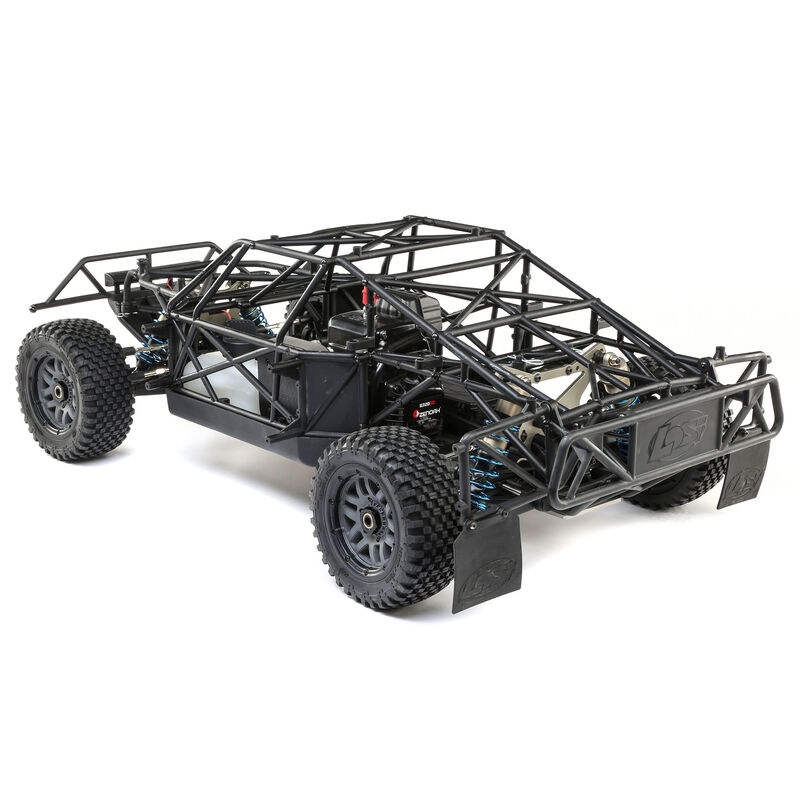 1/5 5IVE-T 2.0 4WD Short Course Truck Gas BND, Grey/Blue/White