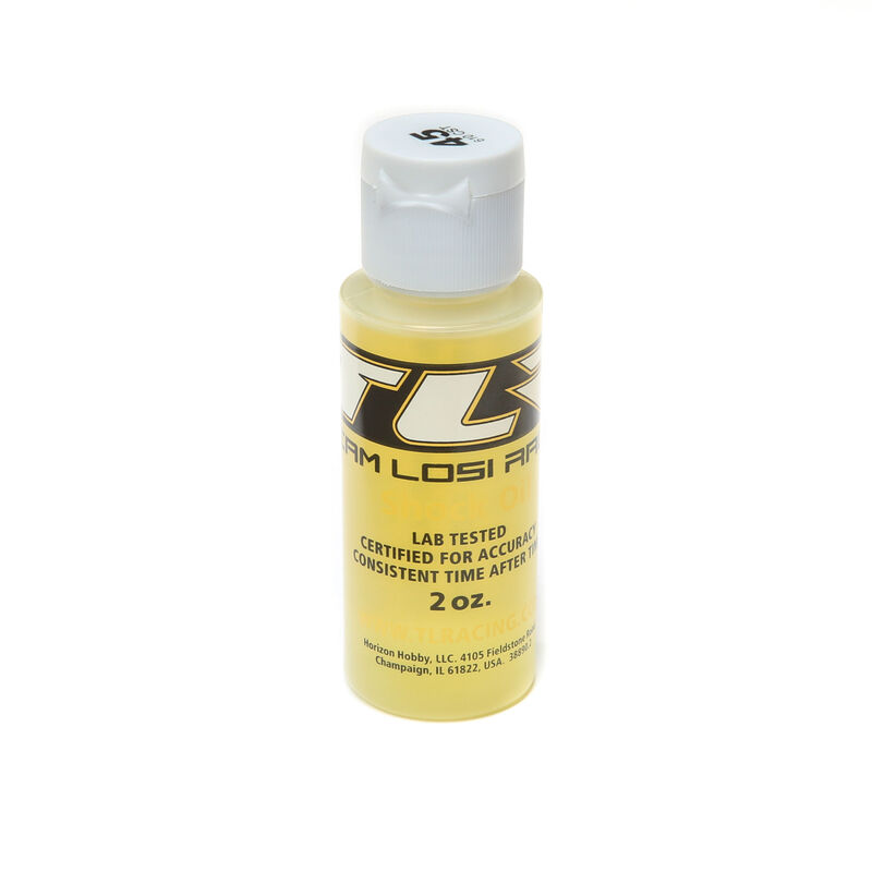 Silicone Shock Oil, 45wt, 2oz