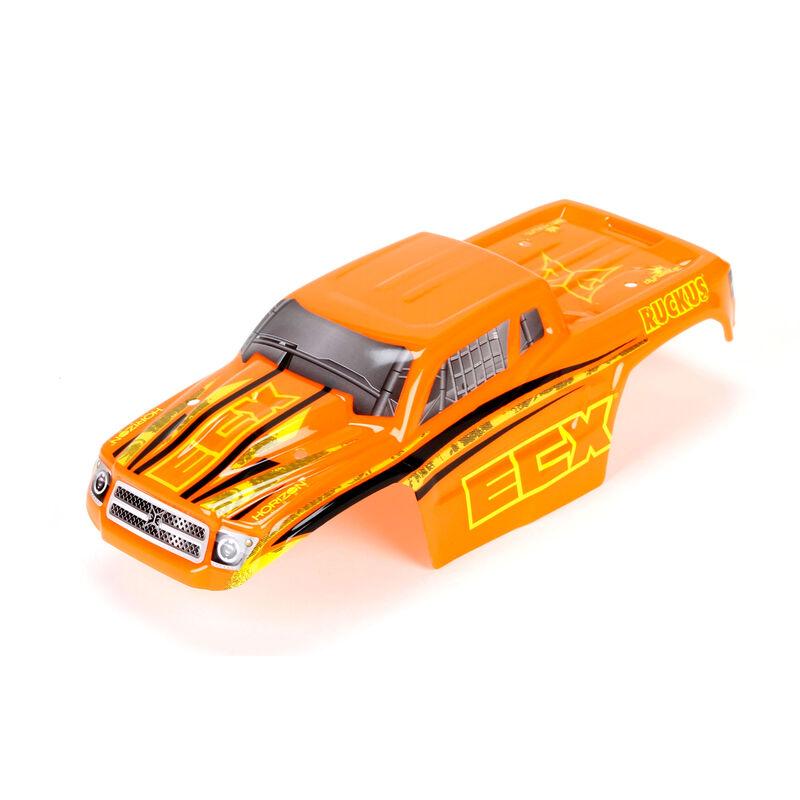 1/18 Painted Body Set, Orange/Yellow: 4WD Ruckus