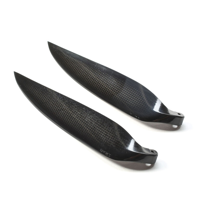 Carbon Folding Propeller Blades, 12 x 8, 40mm