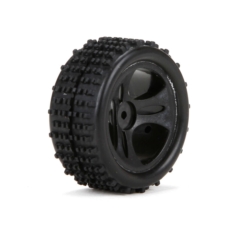 1/24 Front/Rear Premount Tire (2): Roost