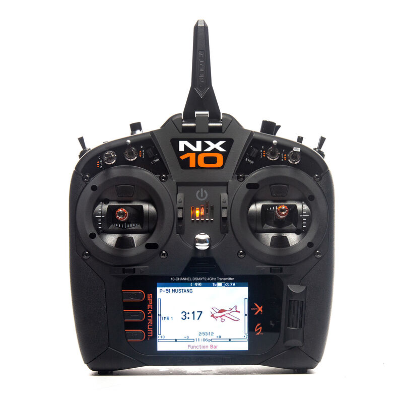 NX10 10-Channel DSMX Transmitter Only, Intl.