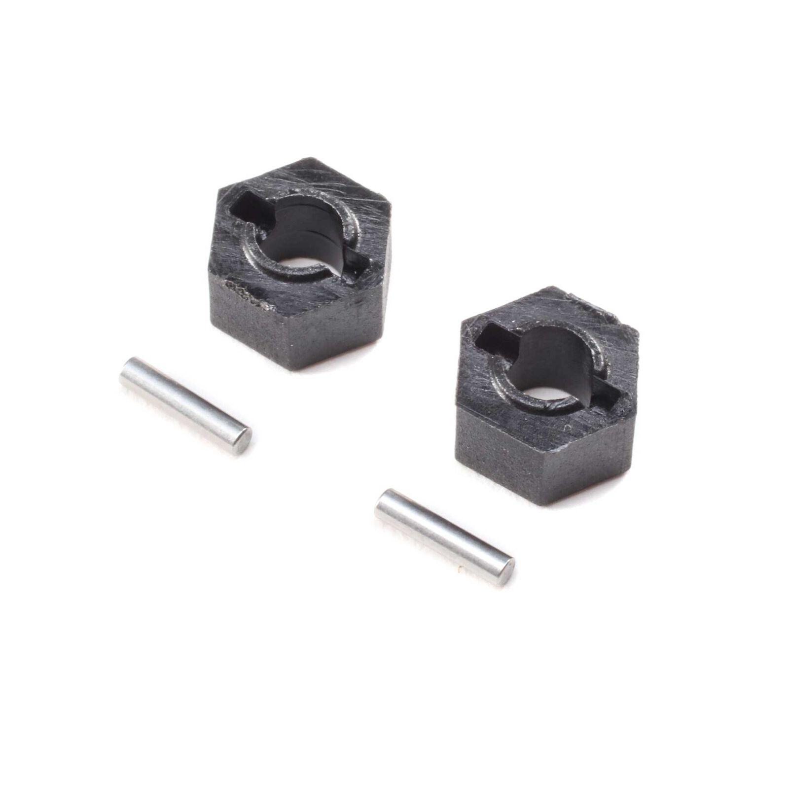 Wheel Hex Pin (2): Mini-T 2.0
