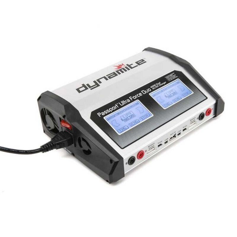 Passport  Duo 400W  Dual AC DC Touch Charger-EU