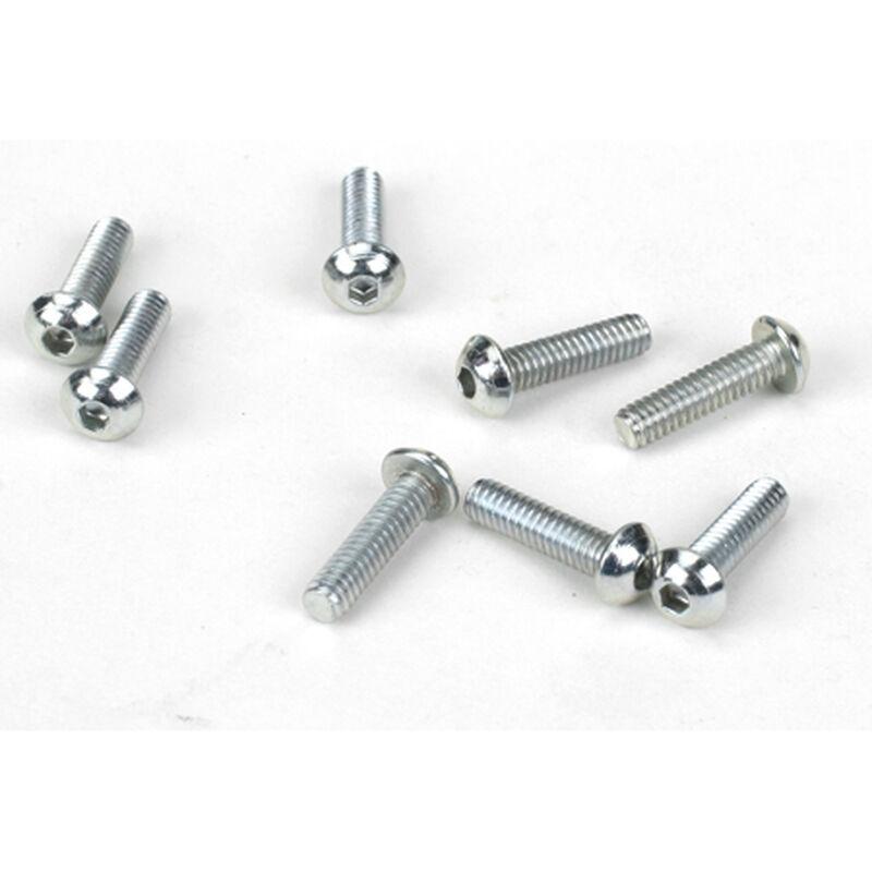 "Button Head Screws,  5-40 x 1/2"" (8)"