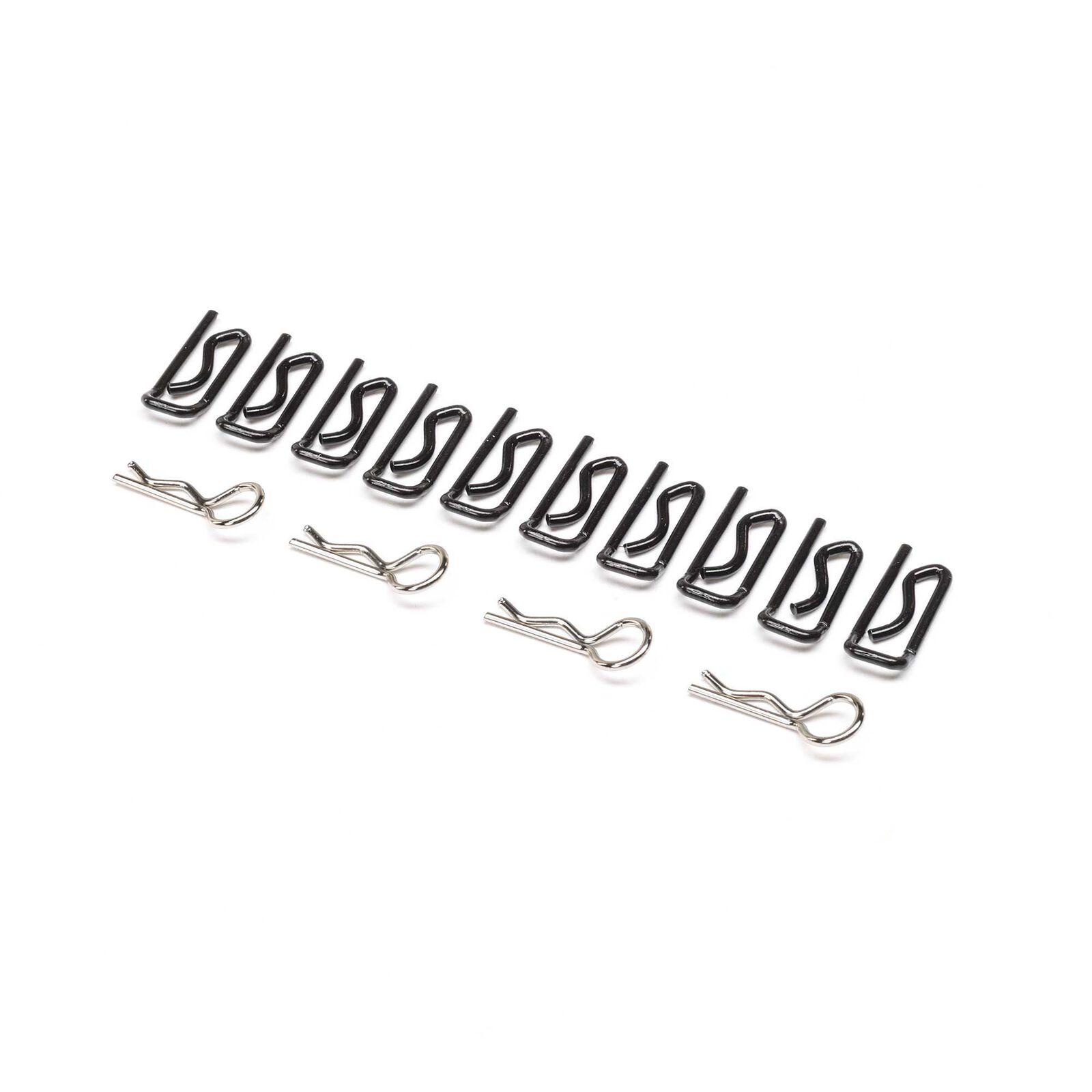 Body Clip, Large (10) & Small (4): 1/5 DB XL