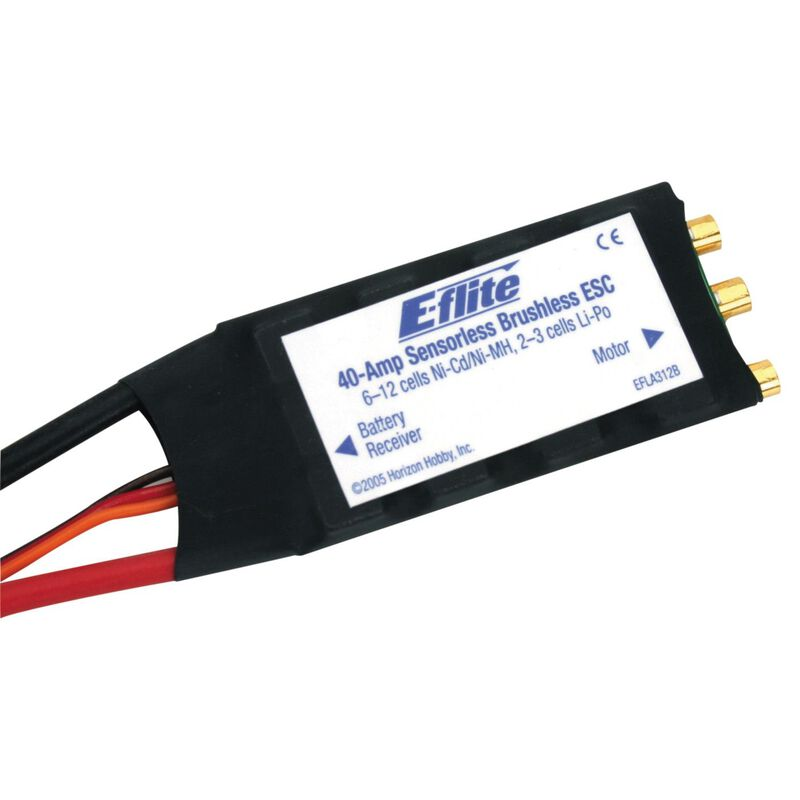 40-Amp Brushless ESC (V2)