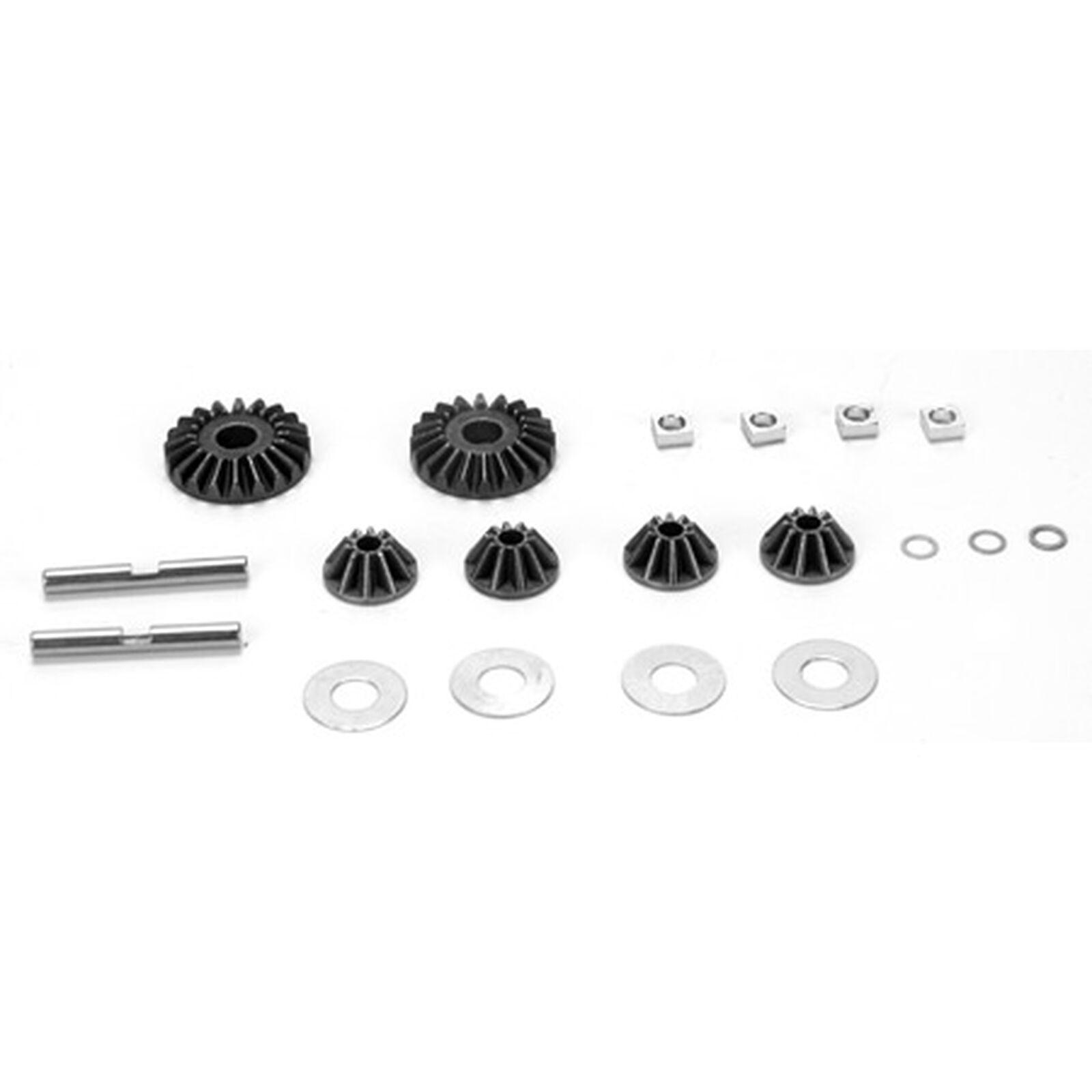 Diff Gear Set w/Hardware: 10-T