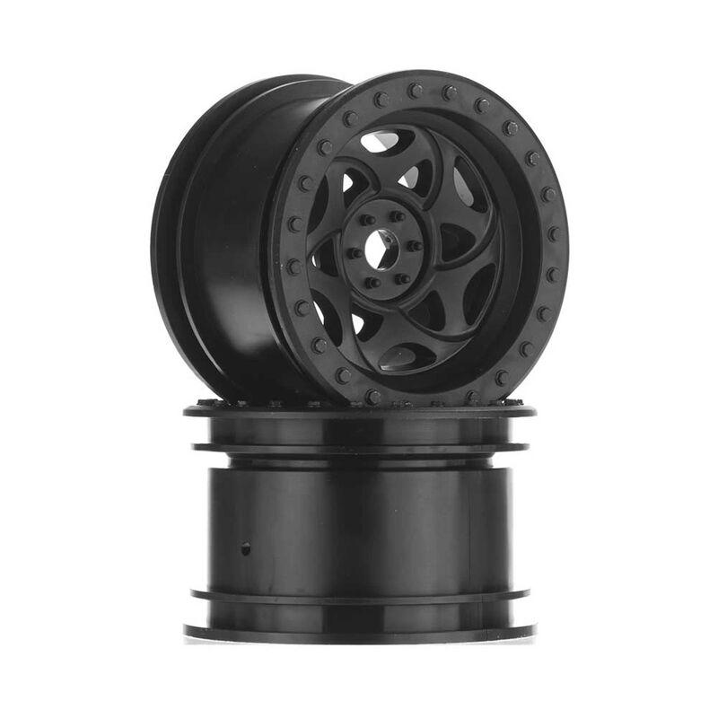 1/10 2.2 Walker Evans Wheels, 12mm Hex, Black (2)