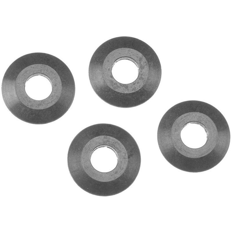 Washer 4.8x14, Black (10)