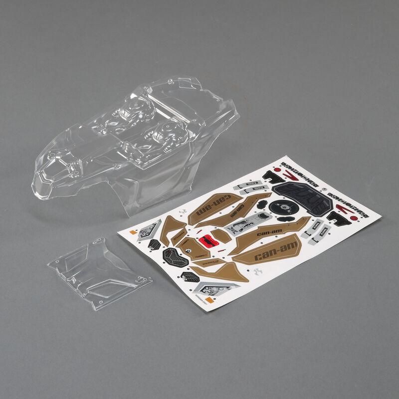 Can-Am Maverick X3 Body, Clear: Yeti Jr
