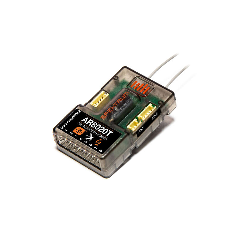 AR8020T DSMX 8-Channel Telemetry Receiver