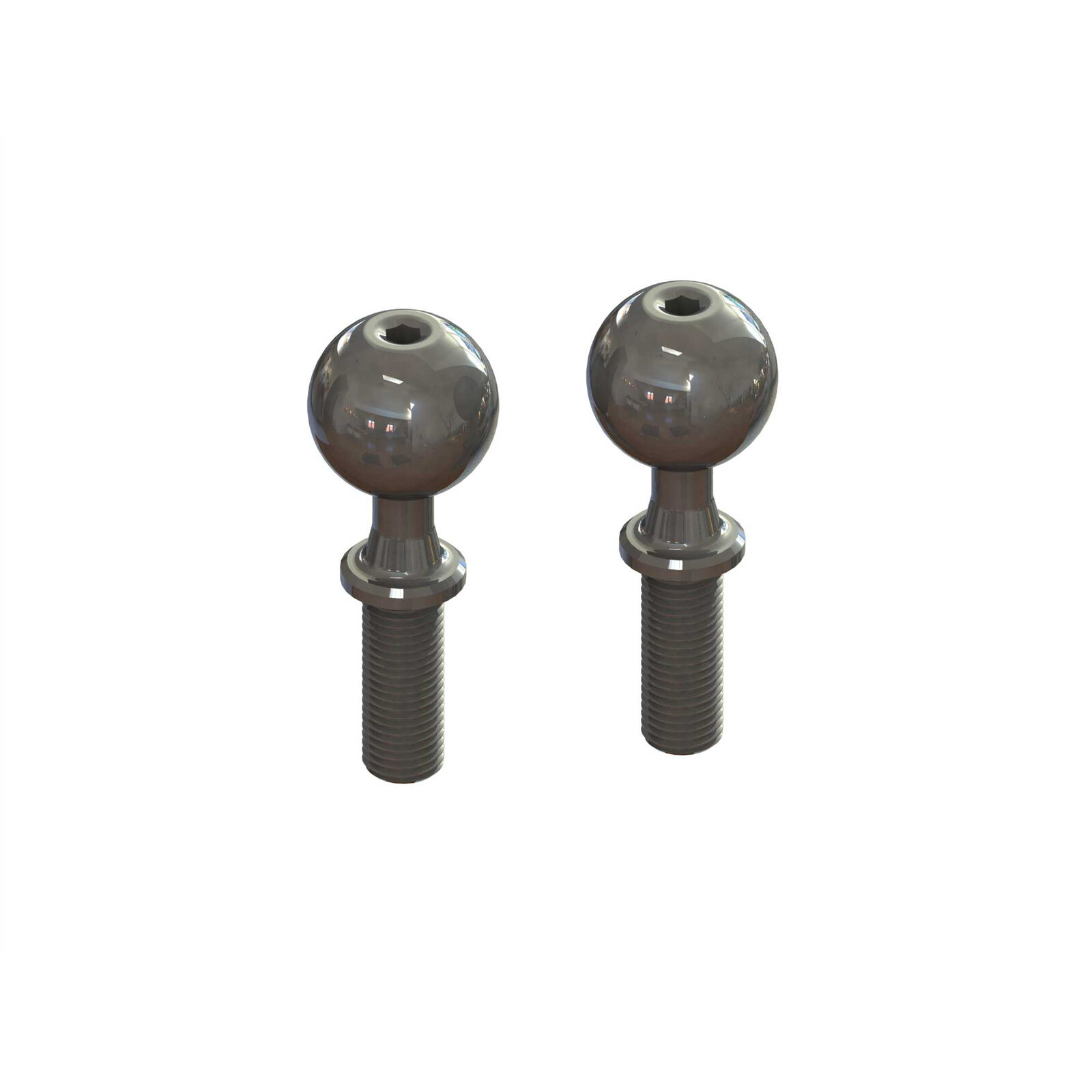 Pivot Ball, Fine Thread M6x14x37mm (2): EXB