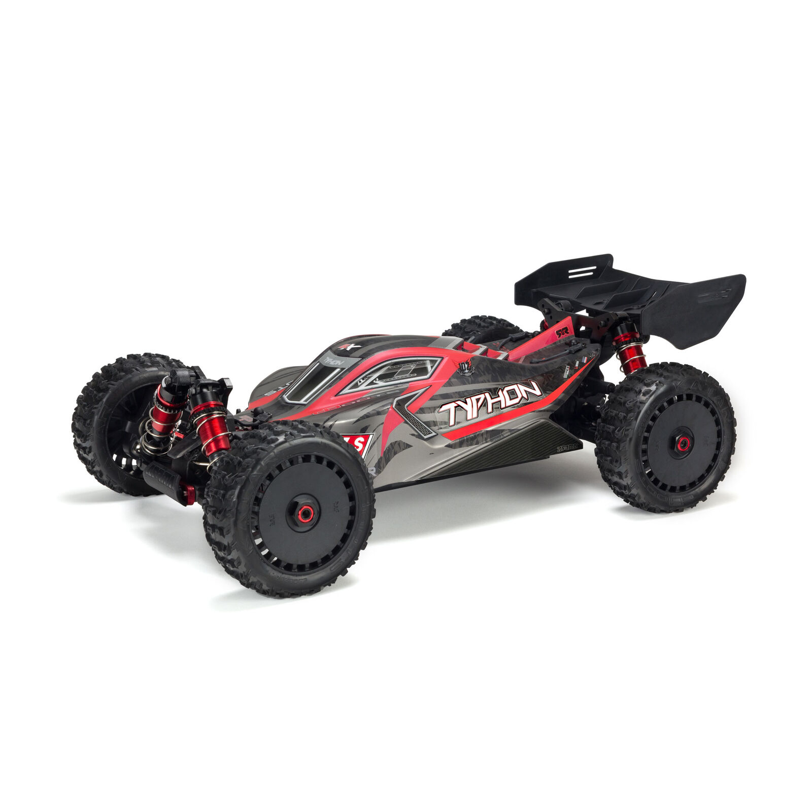Body Painted with Decals TYPHON 6S, Black/Red