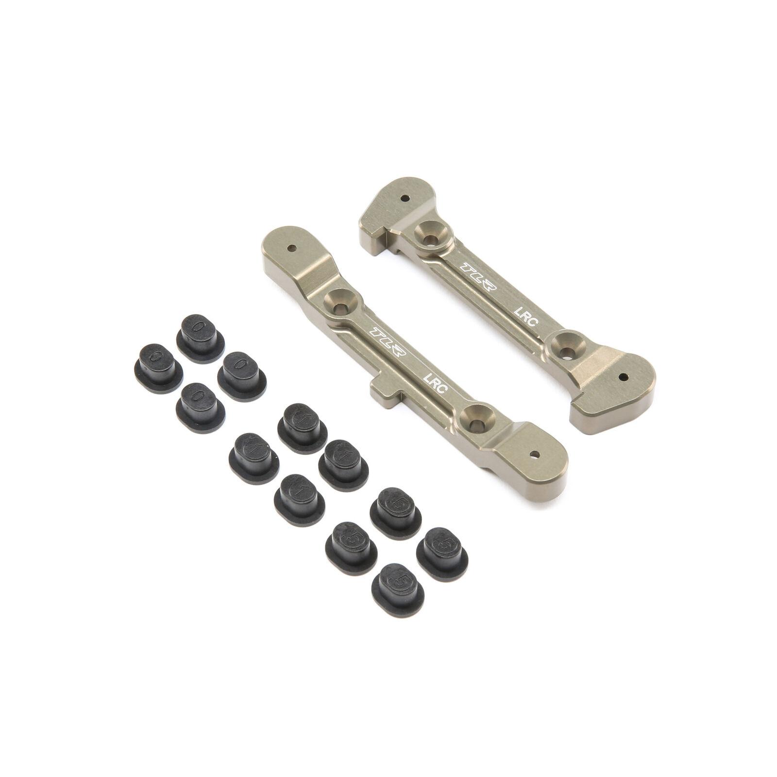 Offset Adjustable Rear Pivot Brace with Inserts: 8 4.0 Tuning Kit