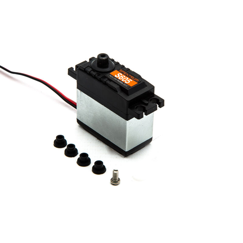 S605 Analog Waterproof 9KG Surface Servo, 23T