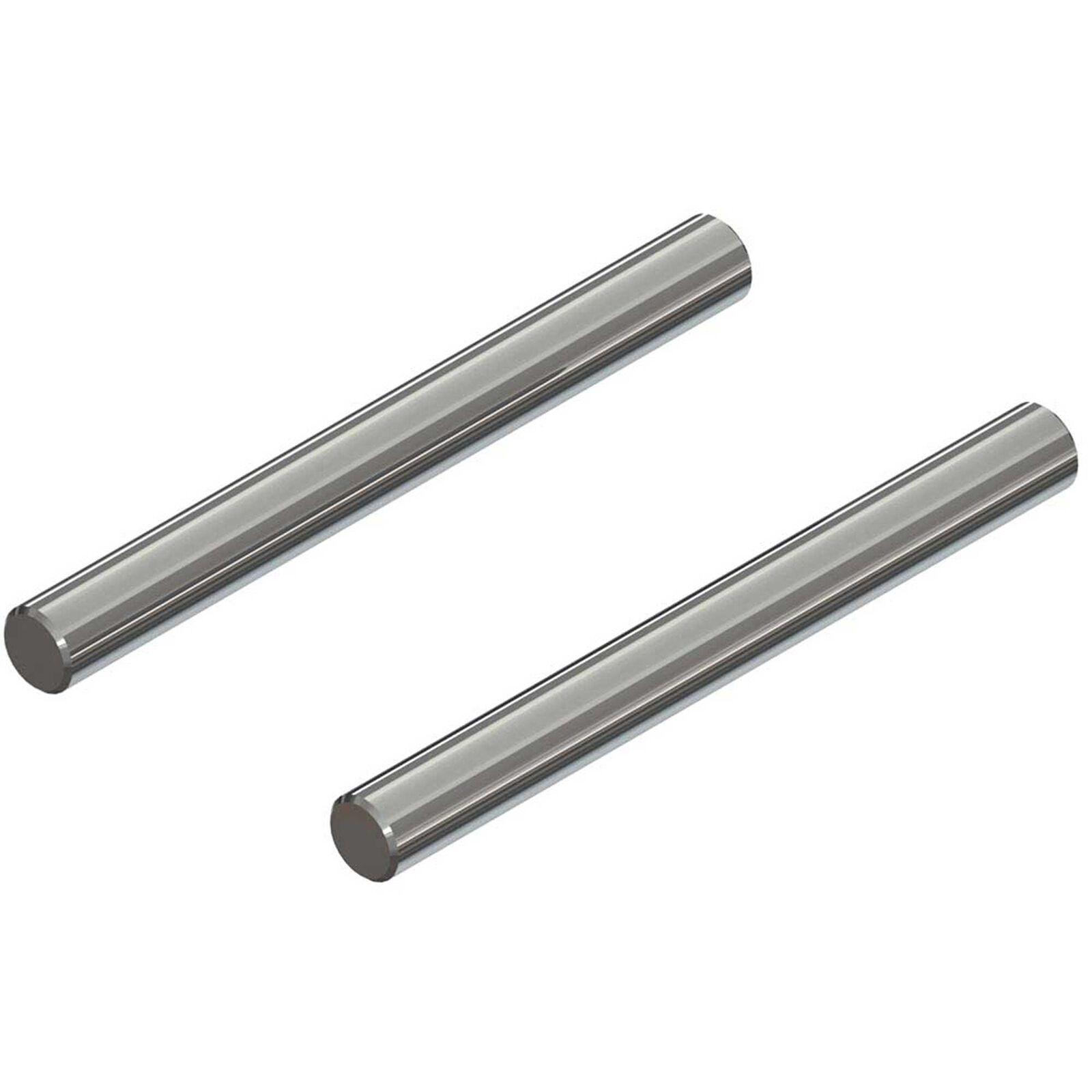 Hinge Pin 4x40mm (2): 4x4
