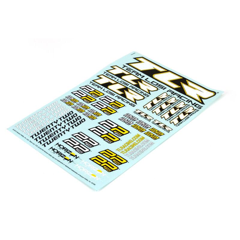 Sticker Sheet: 22 2.0