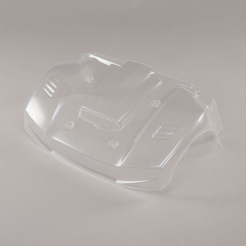 1/5 Clear Front Hood Section: 5ive-T 2.0