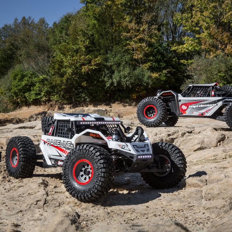 1/6 Super Rock Rey 4WD Brushless Rock Racer RTR with AVC, Raceline
