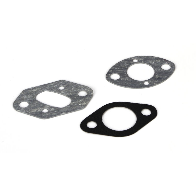 Carb Mounting Gasket Set (2): Losi 26cc