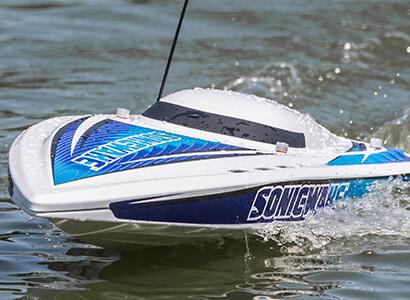 """Pro Boat Sonicwake 36"""" Self-Righting Deep-V Remote Control Boat"""