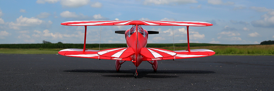 Pitts 850mm BNF Basic with AS3X and SAFE Select