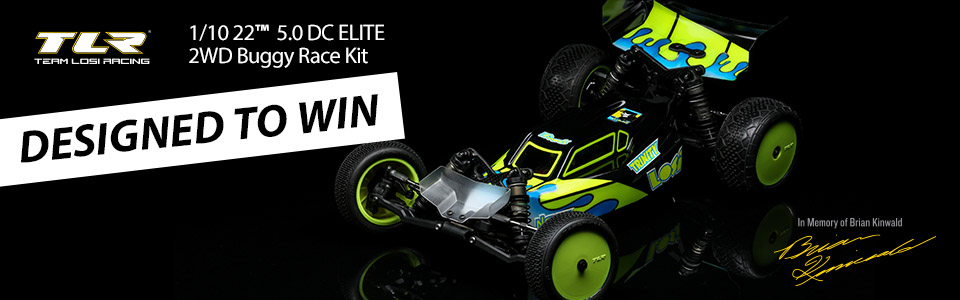 22 5.0 DC ELITE Race Kit